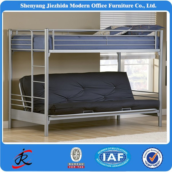 Acero metal hierro litera ni os metal litera doble para for Cama para adulto