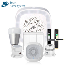AC brand CE FCC RoHS APP control wifi Zigbee Zwave home automation security zigbee smart home system