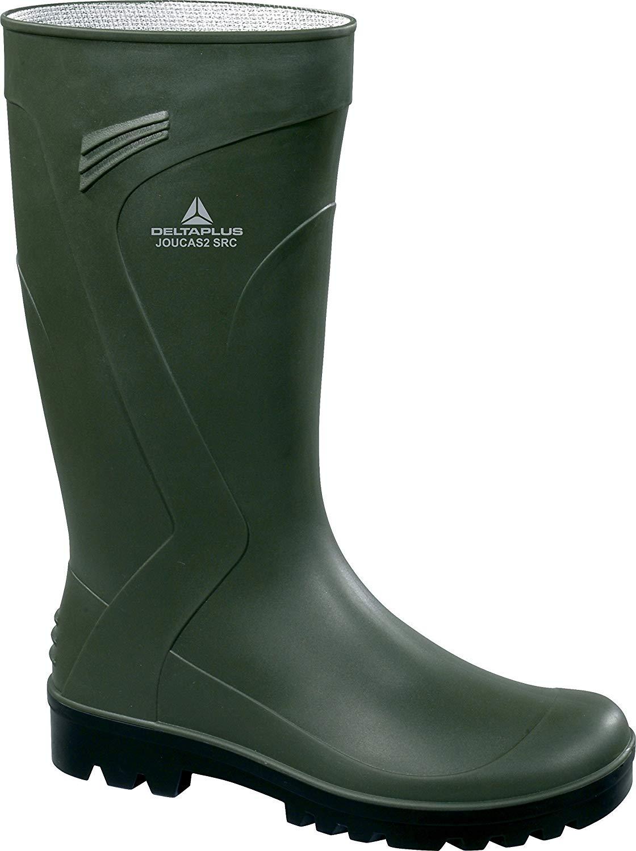 Lukpol Mens Waterproof Festival Wellies Gardening Rain Boots Model-56201
