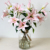 Creative Design Long Stem Pink Real Touch Tiger Lily Silk Flower Artificial Flower