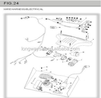 Re12e Engine Start Wiring Diagram furthermore PGO 150CC BUGGY PARTS WIRE HARNESS 60678539049 in addition Wiring Diagram Xrm 110 as well Housing  p Clutch 130951413 moreover High Performance. on loncin 110cc parts