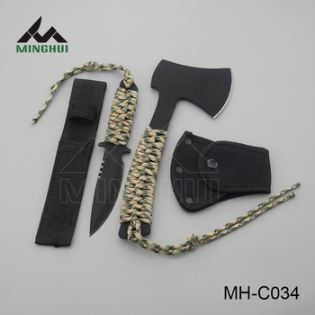 Safe simple outdoor hunting knife set