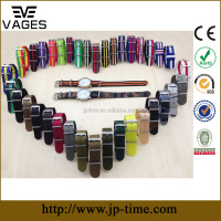 high quality PVD plating OEM custom printed adjustable 18mm 20mm 22mm 24mm camo bordeaux flag bulk nylon nato watch strap