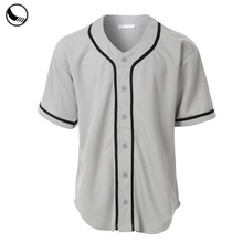 100% polyester vrouw plain baseball <span class=keywords><strong>jersey</strong></span> blank