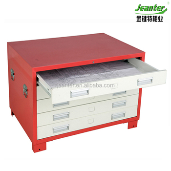 A1 Size Welding Design Project Storage Plan Steel 5 Drawer A3 File Drawing  Cabinet