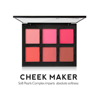 Menow Cosmetics Cheek Makeup Soft Blush Palette