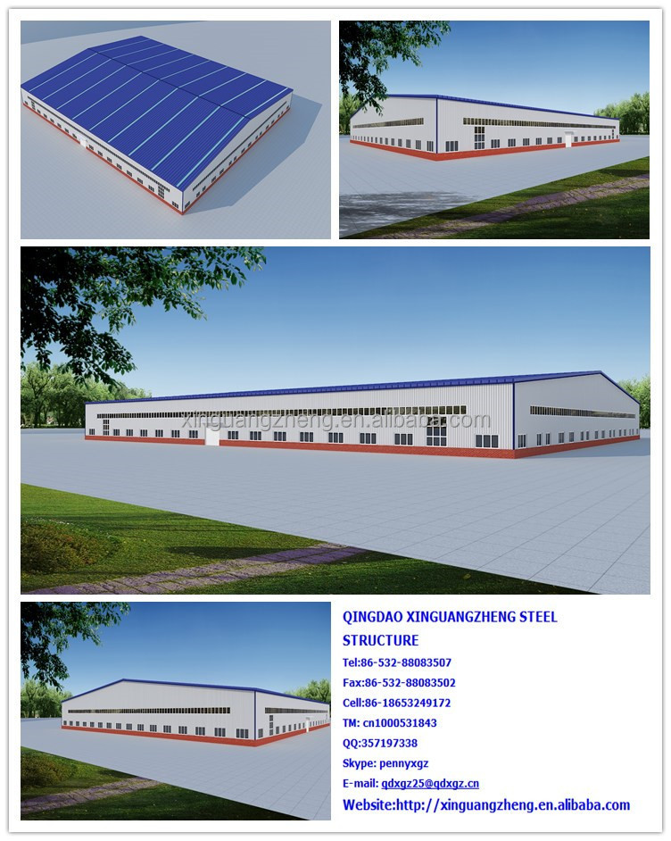 china supplier multi span warehouse
