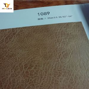 Factory price embossed pu synthetic leather making bags shoes material