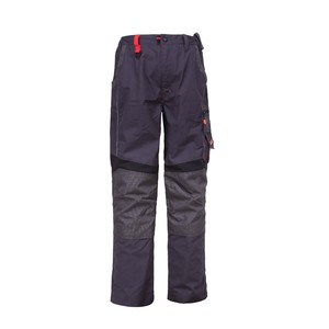 men cargo twill poly-cotton work wear uniform pant