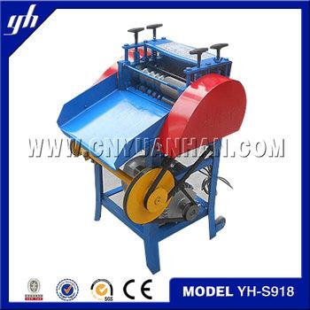 automatic wire stripping machine for scrap copper
