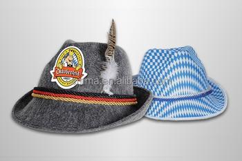 4fa800aac8f77 novo estilo novo popular oktoberfest chapéu cerveja chapéu tirolês HT9026