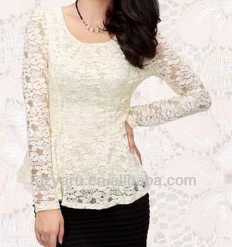 9df9f36030 Latest Design Ladies Long Sleeve Lace Tops - Buy Long Sleeve Lace Tops,Long  Sleeve Lace Tops,Long Sleeve Lace Tops Product on Alibaba.com