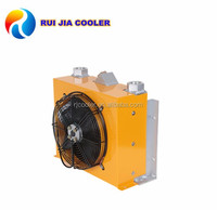 air cooler oil cooler unit with hydraulic valve parts