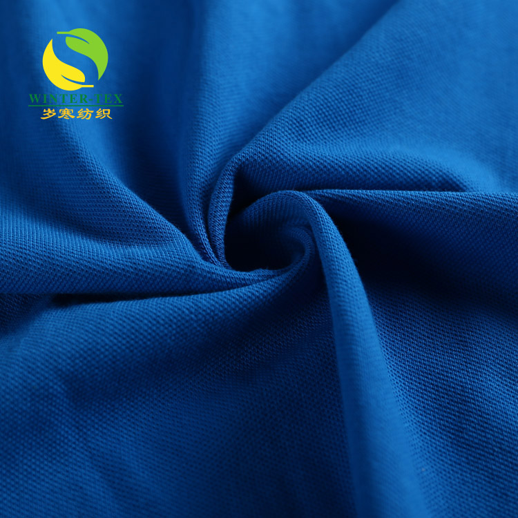Promotional prices knit combed cotton twill mesh fabric wholesale
