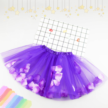 New Children tutu skirts Petal style series Girls baby tulle puffy skirts