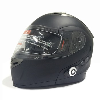 2017 New Bluetooth Helmet Built In Intercom Smart Motorcycle Music 3 Riders 500m With