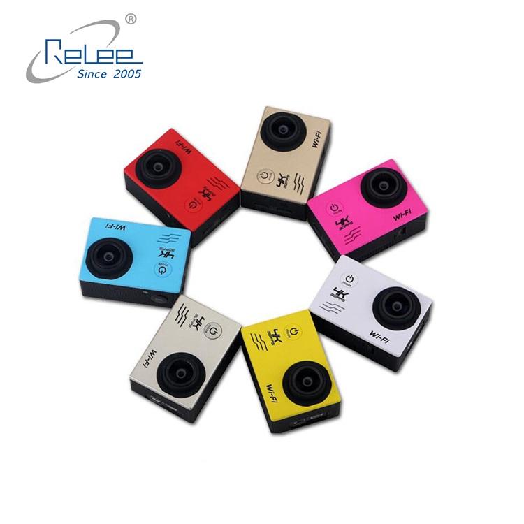 2019 wi-fi de vídeo DV camcorder 2.0 polegadas tela SJ4000 4k câmera de esportes de ação