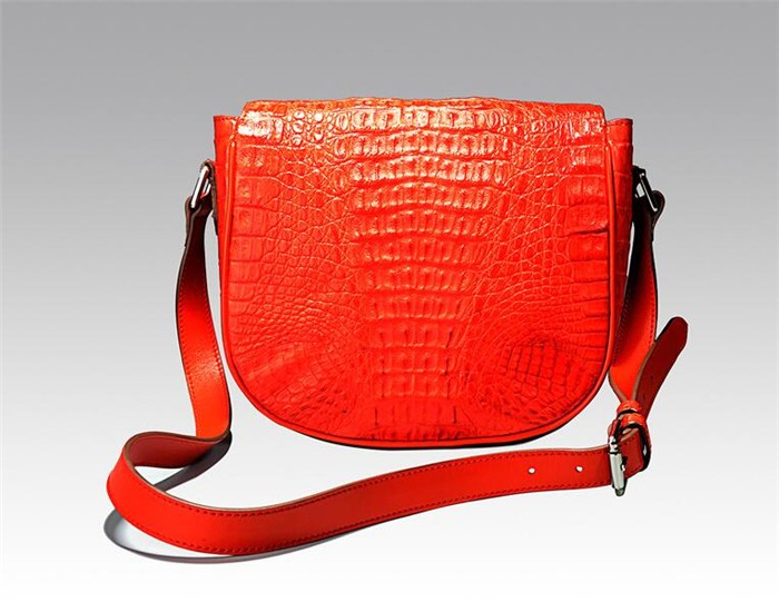 luxury genuine crocodile skin bag/handbag,fashionable leather shoulder bag for lady