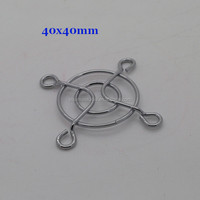 IP40 40*40MM Metal Fan Guard For 3D Printer Accessories