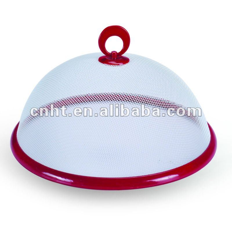 high quality food cover with plastic rim