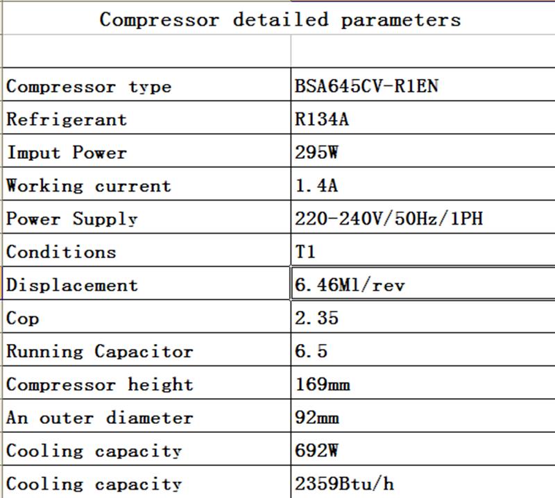 hautement compresseur de climatisation et de r u00e9frig u00e9ration