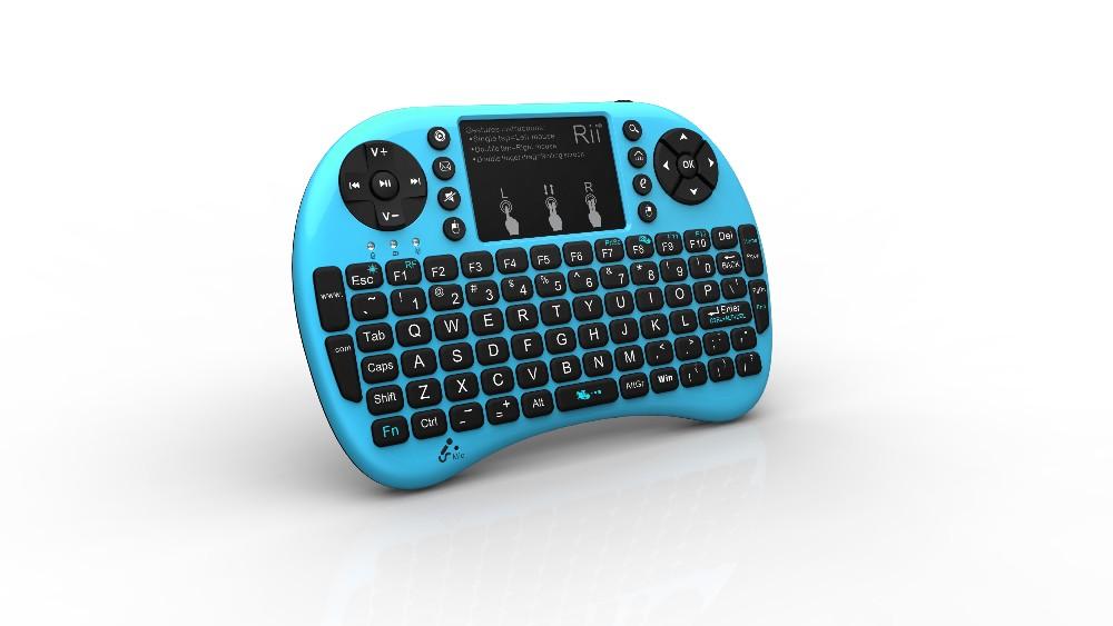 2016 Real Rii I8 Mini Keyboard Backlit Air Mouse I8+ Gaming ...