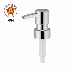 Factory Price Customized Metal Soap Liquid Dispenser Bottle Pump For Mason Jars