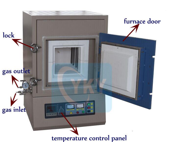 Powder Metallurgy Sintering Furnace Metal Ceramic Powder