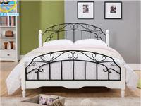 Modern design king size wooden sofa bed iron single bed set furniture