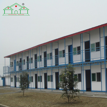 Affordable ready made two storey prefab apartment building