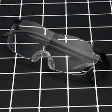 Oulylan, женские очки для чтения с большим видением 250%, мужские очки без рамки, увеличительные очки 1,6 крат + 250 градусов, увеличительные очки для ...(Китай)