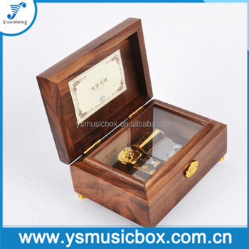 Jewelry Wooden Handmade Music Box For Her Custom Song Birthday Gift Christmas