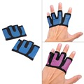 Pair Half Finger Gloves Weight Lifting Workout Crossfit Fitness Yoga Exercise