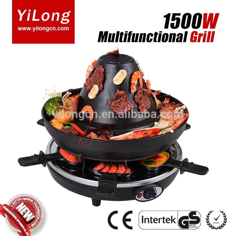 Raclette Fondue Set raclette grill layers smokeless electric pan grill bbq grill