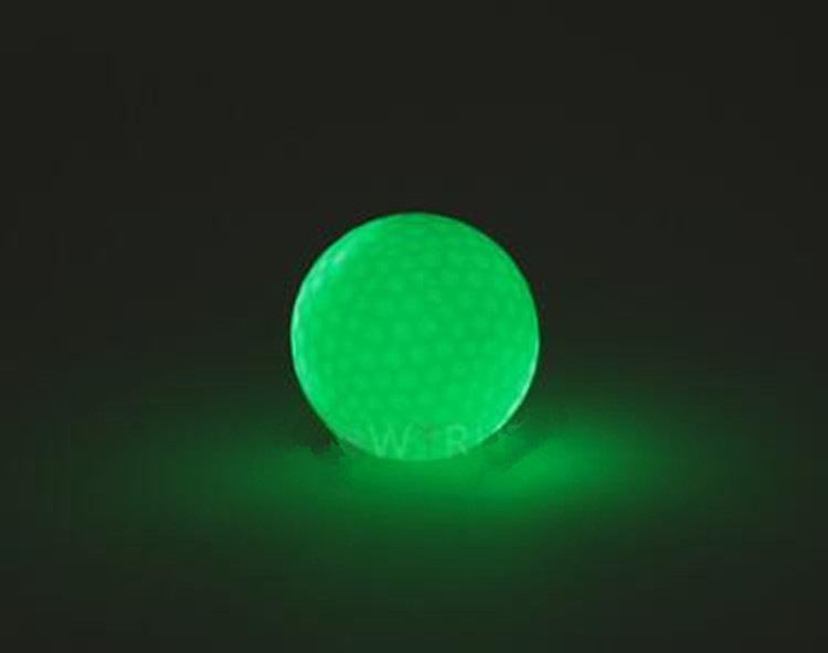 Hot Sale Fashionable Golf  Ball Night Sports Led Golf Ball