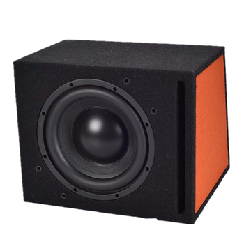 JLD audio 10  inch vented passive subwoofer enclosure With carpet protection