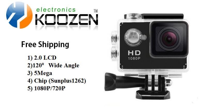 Водонепроницаемый 30 М SJ4000 Действий Камеры 2.0 дюймов Экран 720 P Спорт Mini DV Для Всех Экстремальных Видов Спорта
