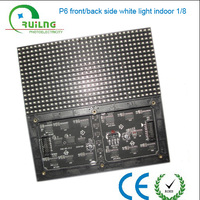 High Brightness SMD 3 in 1 P6 Module (192 x 96 mm) LED display module Resolution 27777 pixel Refresh Rate 3000Hz Factory price