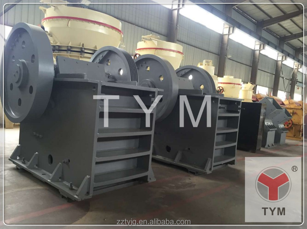 PE Jaw crusher type components of the nigeria mining industry