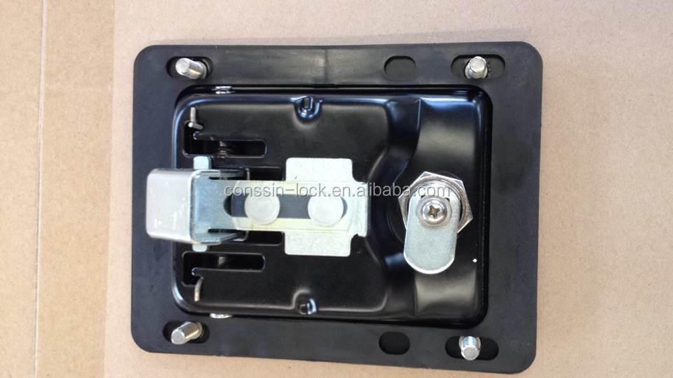 Flush recessed paddle lock slam latch buy flush recessed for Salt resistant door handles