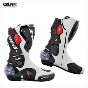BJ-BT-B1001 motorbike boots Speed Racing shoes Boots