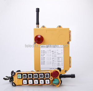 F24-10S universal mini wireless transmitter and receiver industrial crane radio remote control for winch