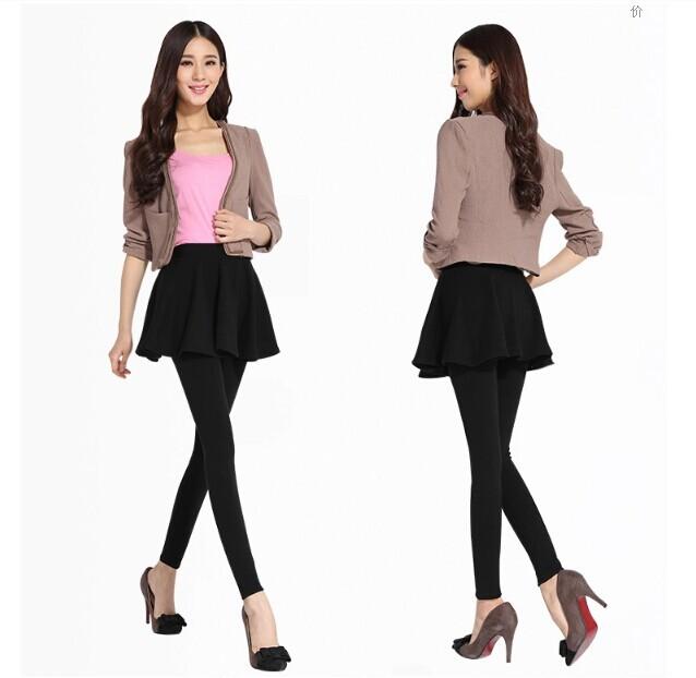 Leggings Mini Skirt 58