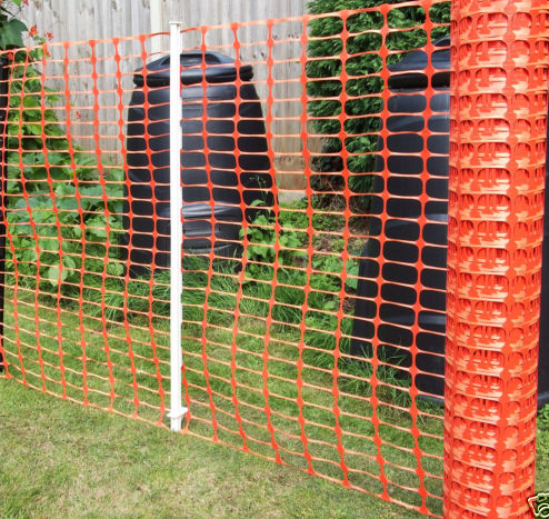 Colorful Plastic Safe Fence Safe Mesh Netting