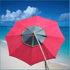 Round solar panel Hottest selling unique umbrella 60Watt solar charger for beach/square