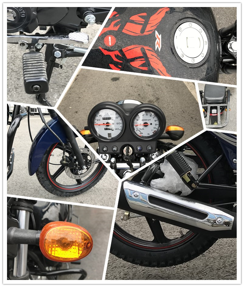 Gas Legal 50cc Moped 100cc Chinese Street Motorcycle for Sale Cheapest