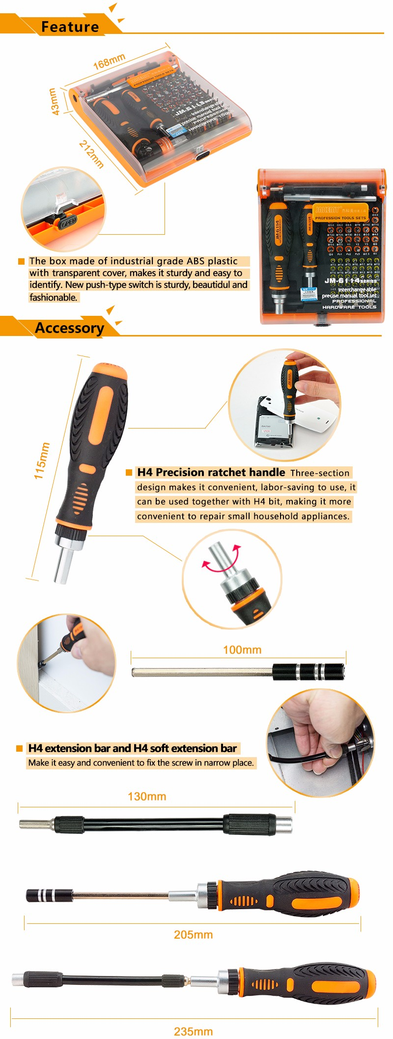 Repair tool mini crv screwdriver bits with pentagon screwdriver