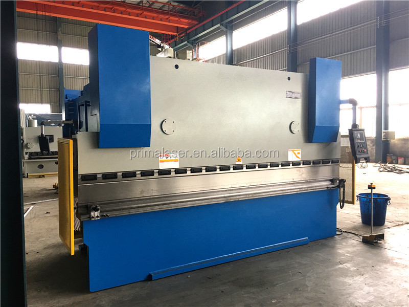 4 axis 300T/4000 mm Stainless Steel CNC Hydraulic Press Brake tooling with Delem DA52S