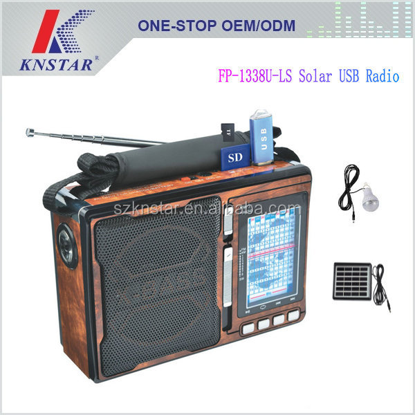Fepe 1338uls Solar Radio With Led Lamp