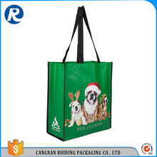 Ruiding Most Popular Products Wholesale Black OEM Logo Eco-friendly Tote Shopping Bags